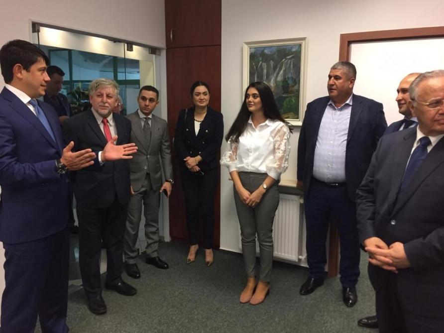 Состоялось открытие центрального офиса Ассоциации азербайджанцев Польши (ФОТО)