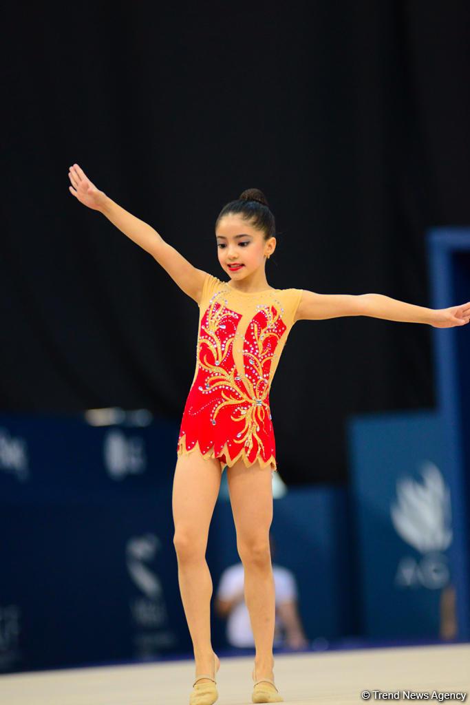 Стартовал последний день соревнований первенства Азербайджана и Баку и Кубка регионов по художественной гимнастике (ФОТО)