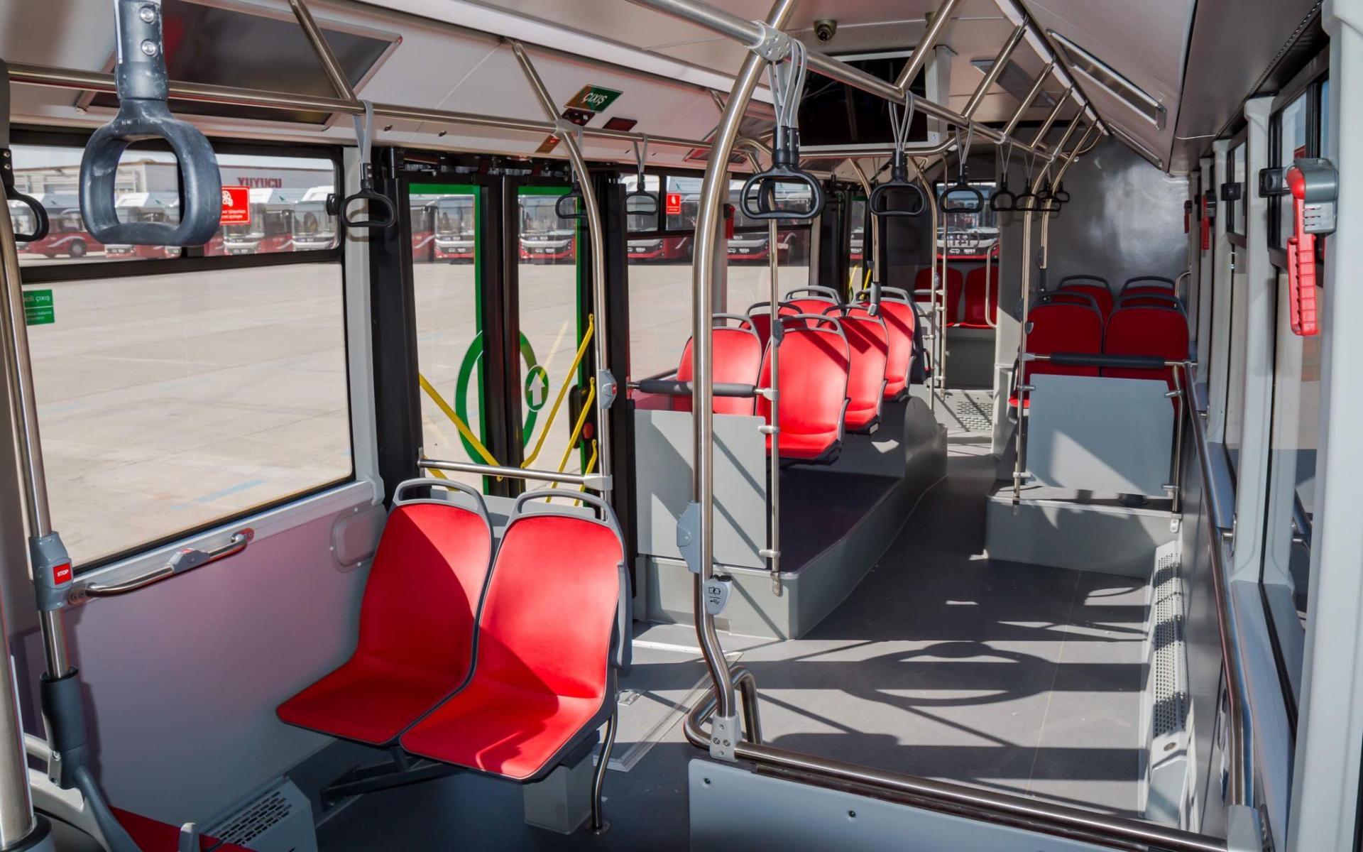 Bakıya gətirilən yeni avtobuslar ilin sonuna qədər istifadəyə veriləcək (ÖZƏL) (FOTO)
