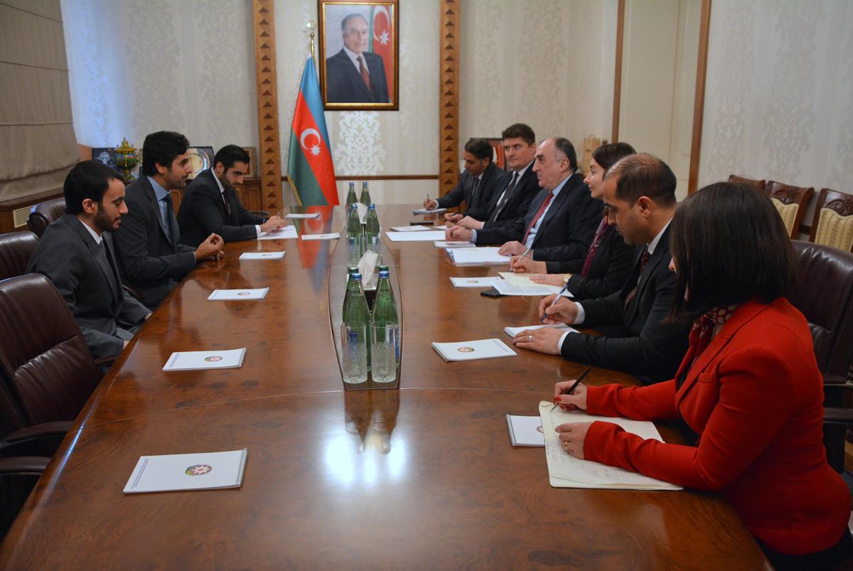 Эльмар Мамедъяров встретился с новым послом Катара (ФОТО)