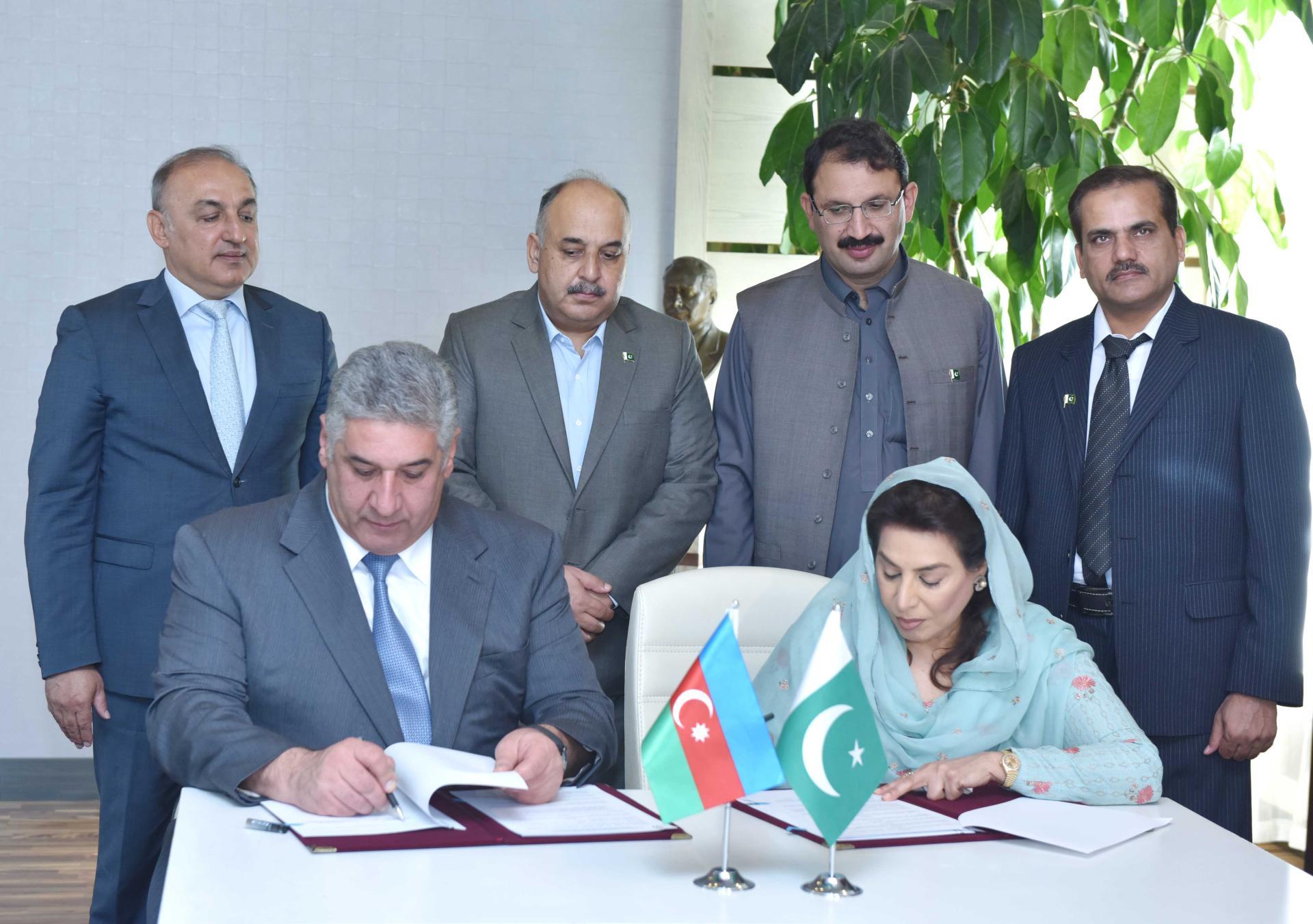 Azərbaycan və Pakistan arasında idman sahəsində Anlaşma Memorandumu imzalanıb (FOTO)