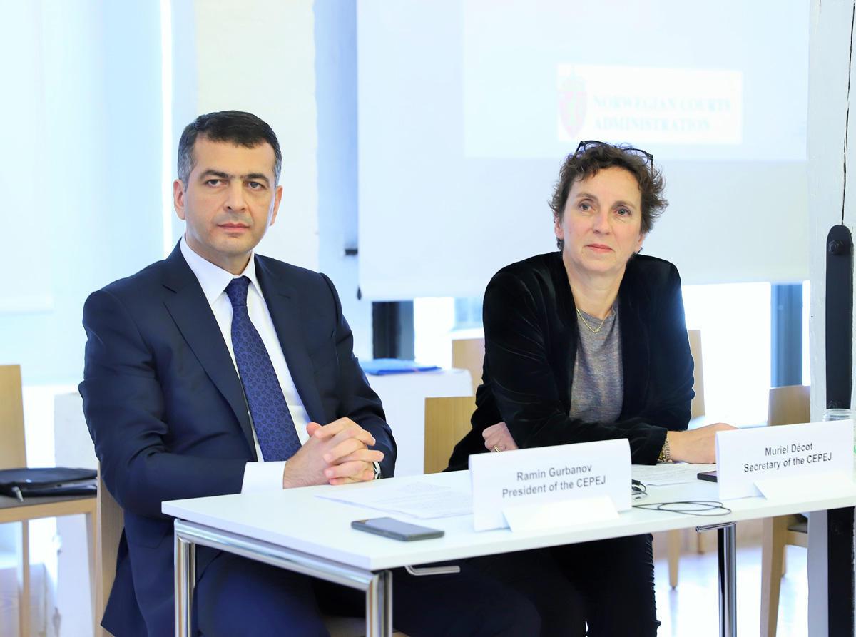 Советом Европы за инновации в судебной системе и правосудии были награждены четыре страны (ФОТО)