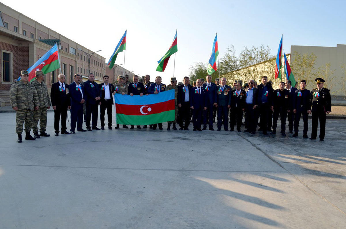 "March under motto ""Karabakh is Azerbaijan and exclamation mark!"" held in Azerbaijan (PHOTO)"