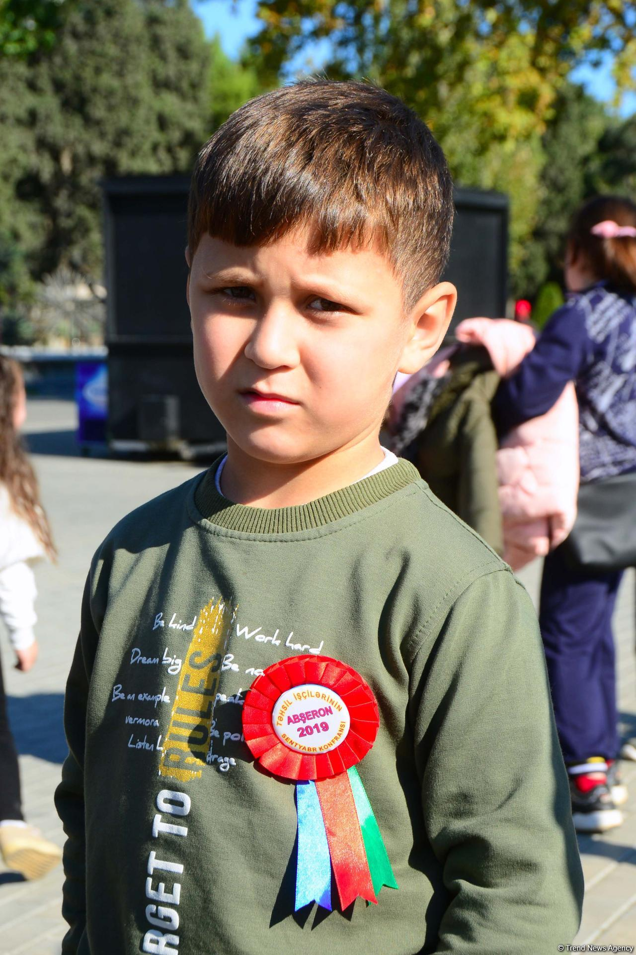 Festive event on occasion of National Flag Day held on Baku Boulevard (Photo report)