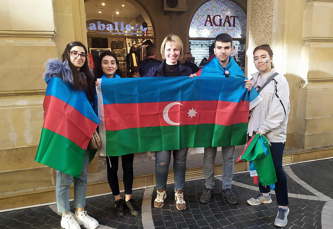 Грандиозная акция от волонтеров диаспоры Азербайджана (ФОТО)