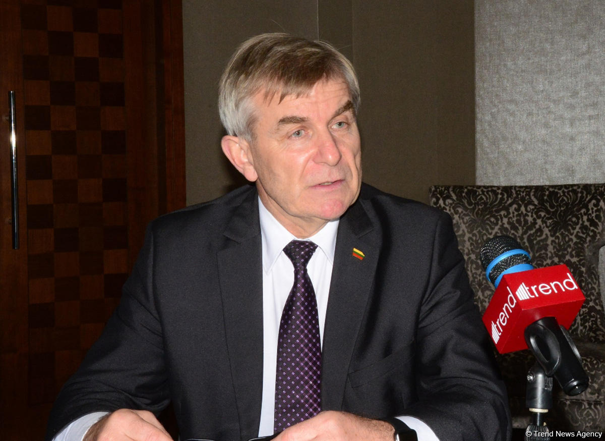 Seimas speaker: Azerbaijan, Lithuania intend to elevate relations to higher level (Exclusive) (PHOTO)