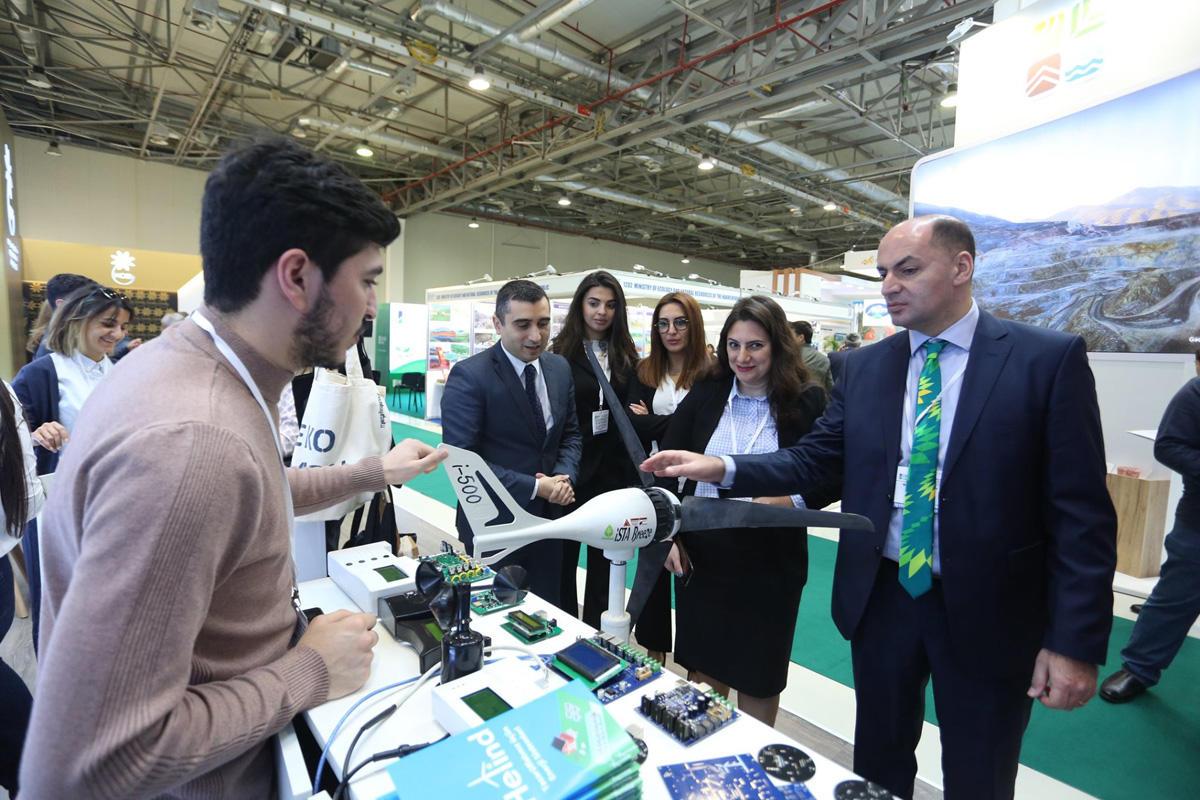 Субъекты МСБ представлены на Азербайджанской международной выставке в области охраны окружающей среды (ФОТО)