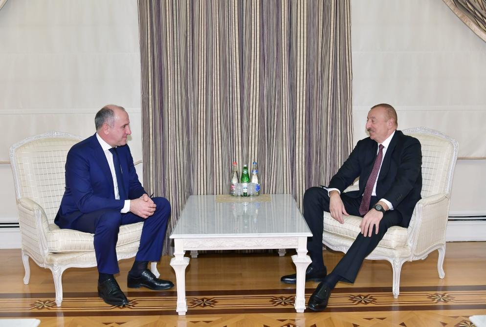 Azerbaijani president receives delegation led by head of Karachay-Cherkessia Republic of Russian Federation (PHOTO)