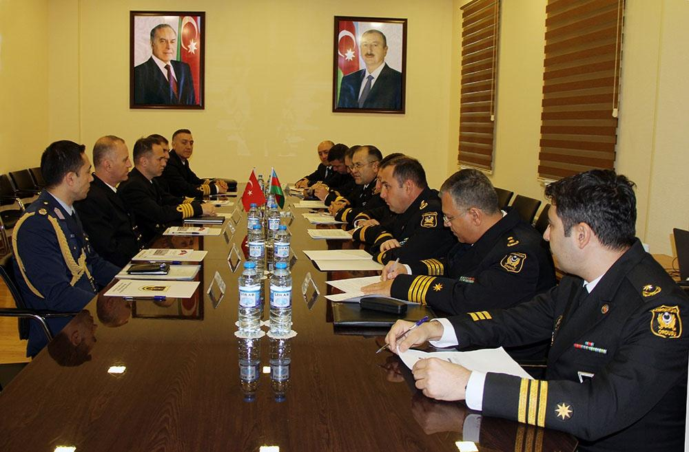 Turkish Naval Forces delegation visits Baku (PHOTO)