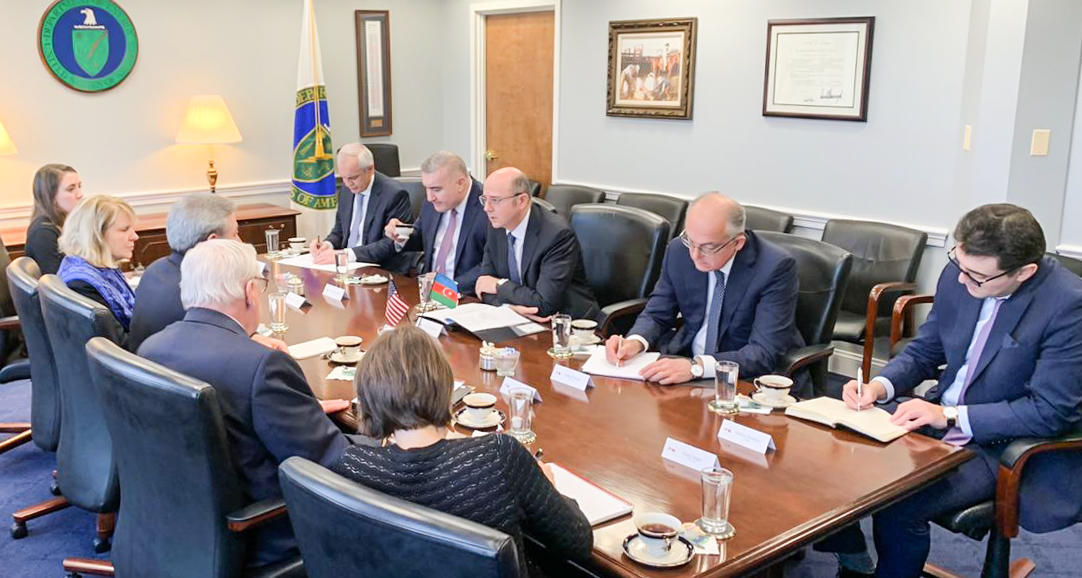 Azerbaijani minister: US long-term support for Southern Gas Corridor commendable (PHOTO)