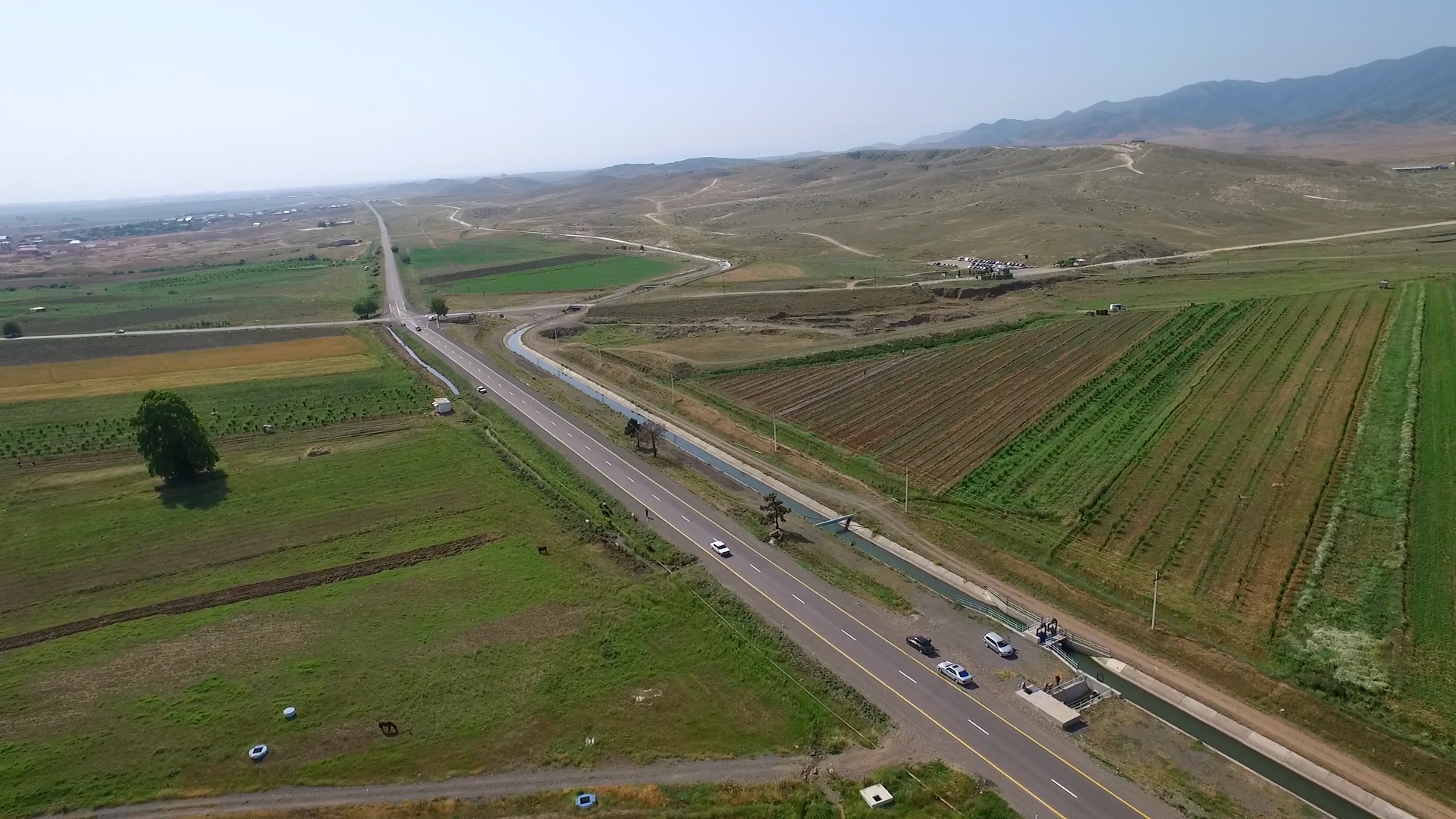 Large-scale reconstruction of road infrastructure underway in Azerbaijani districts (PHOTO)