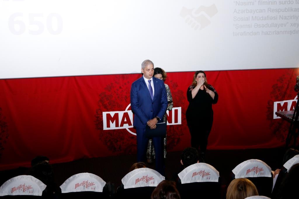 """""""Nəsimi"""" bədii filminin surdo-tərcümə versiyasının təqdimatı olub (FOTO)"""