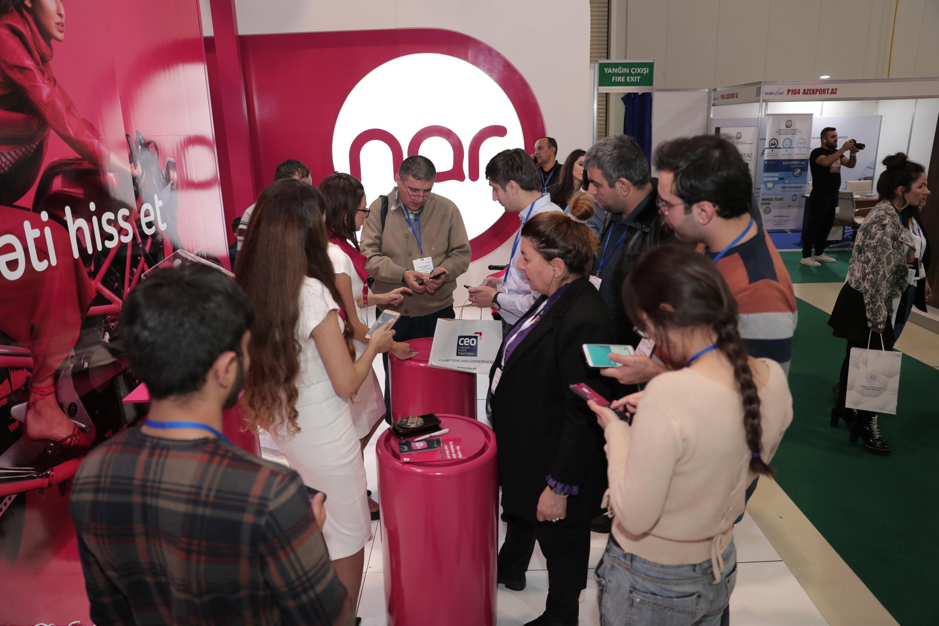 Visit Nar stand at BakuTel and win smartphone! (PHOTO)