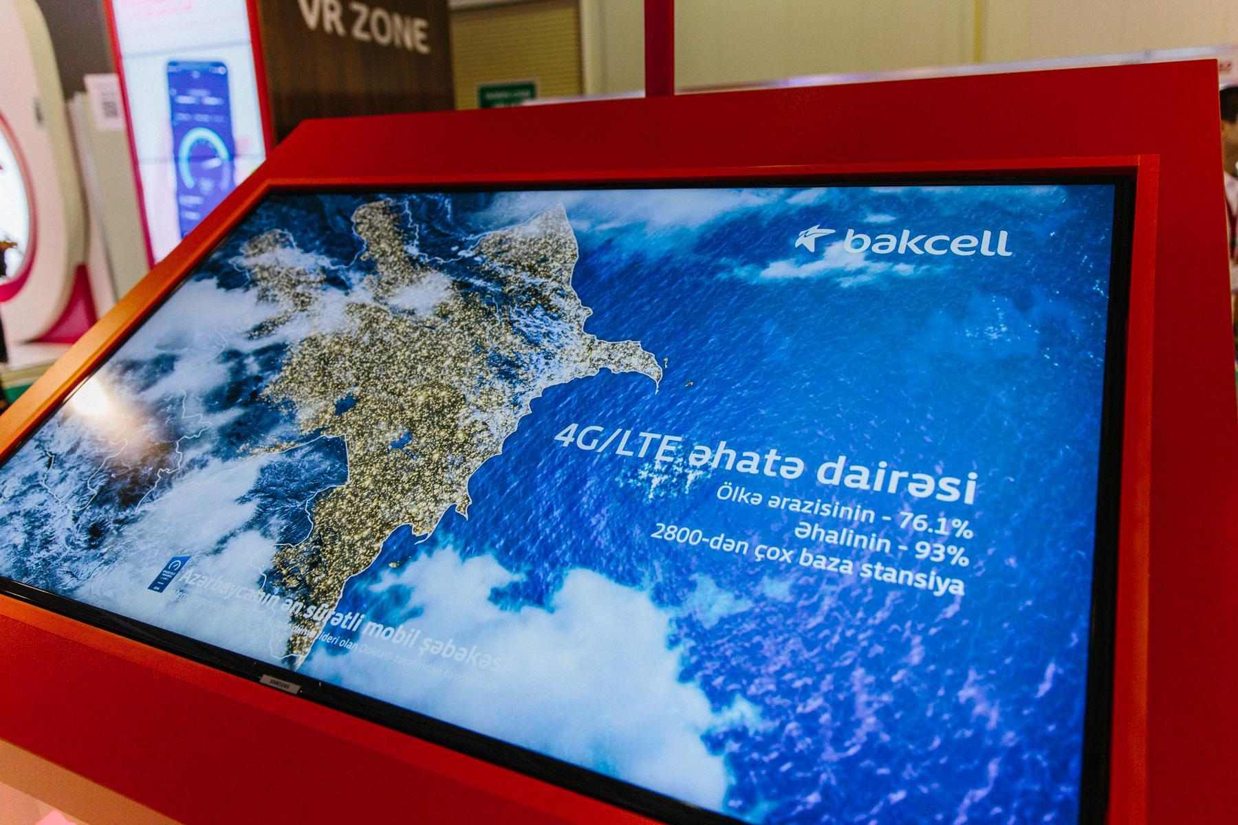 Bakcell at Bakutel 2019: network superiority and best customer experience (PHOTO)