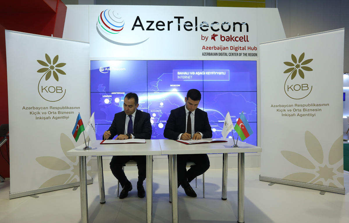 AzerTelecom to corporate with Agency for Development of Small and Medium-sized Enterprises (PHOTO)