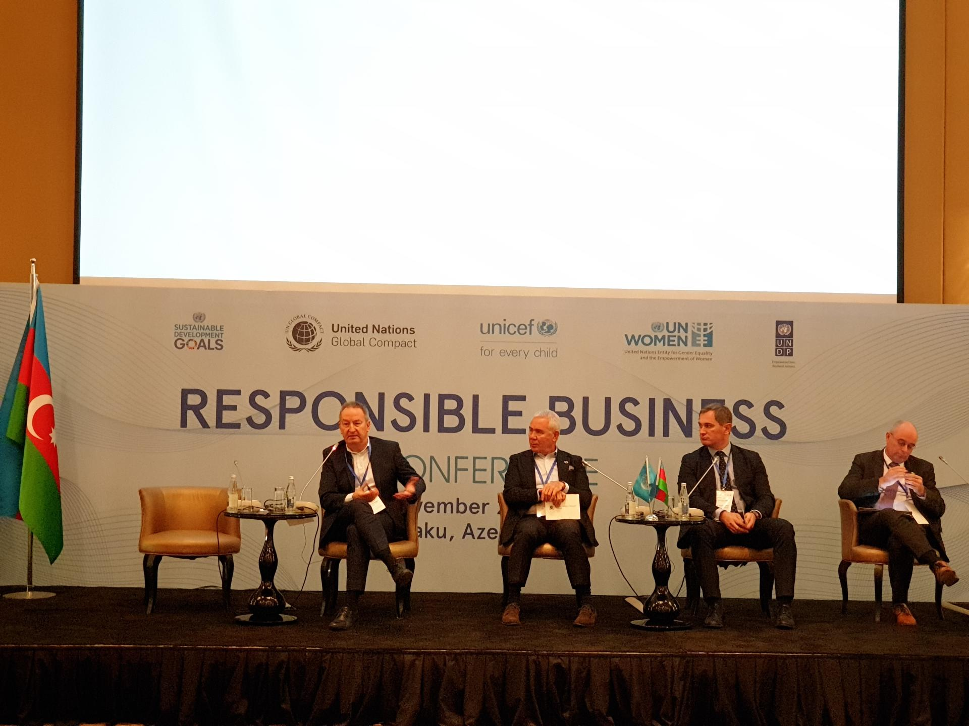 Business leaders in Azerbaijan discuss embedding UN Global Compact principles & SDGs into their operations, strategies (PHOTO)