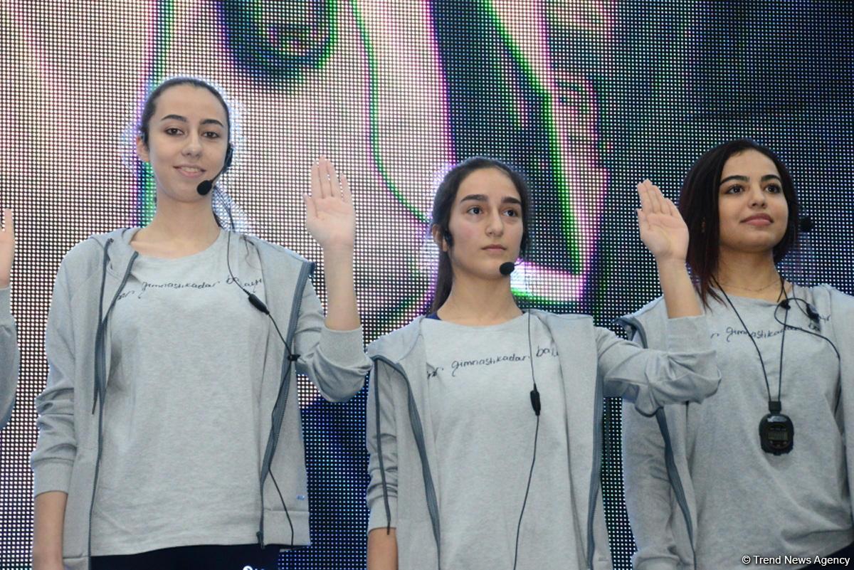 Relay competitions of Azerbaijan Gymnastics Federation held at National Gymnastics Arena (PHOTO/VIDEO)