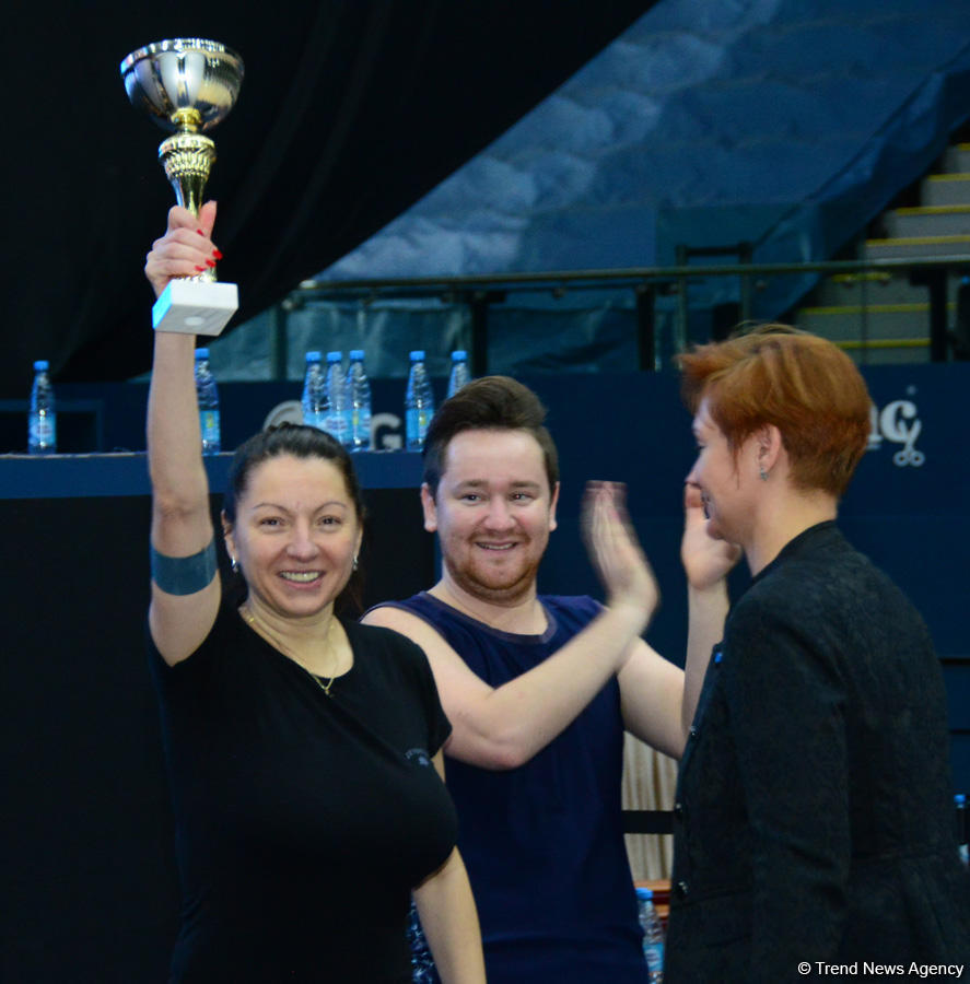 Exciting and bright: Winners of relay competitions of Azerbaijan Gymnastics Federation determined