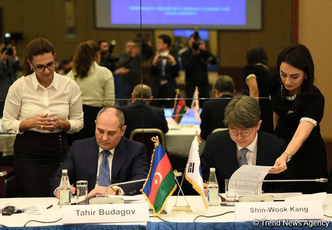 Azerbaijan, S.Korea to sign new agreement on cooperation in field of statistics  (PHOTO)