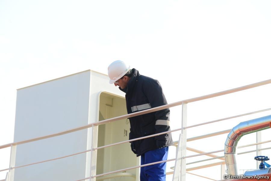 """Танкер """"Лачин"""" будет перевозить грузы по Каспию и за его пределами (ФОТО)"""