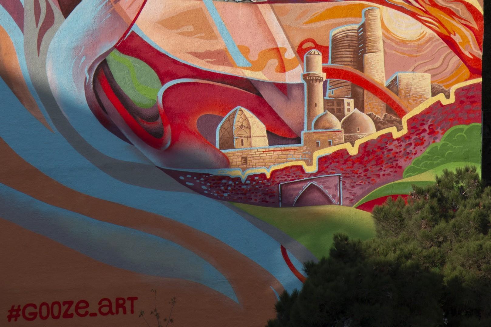Дома Баку украсил один из лучших художников Европы: Нас просто заваливали фруктами (ФОТО)