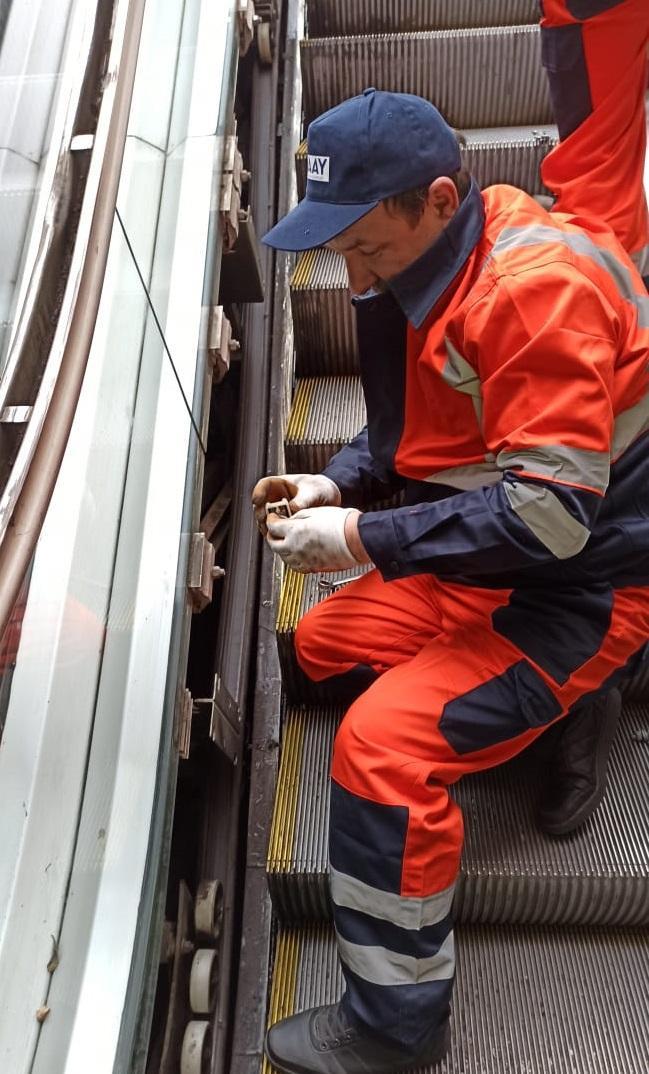 Госагентство о ремонте эскалаторов на пешеходных переходах Баку (ФОТО)