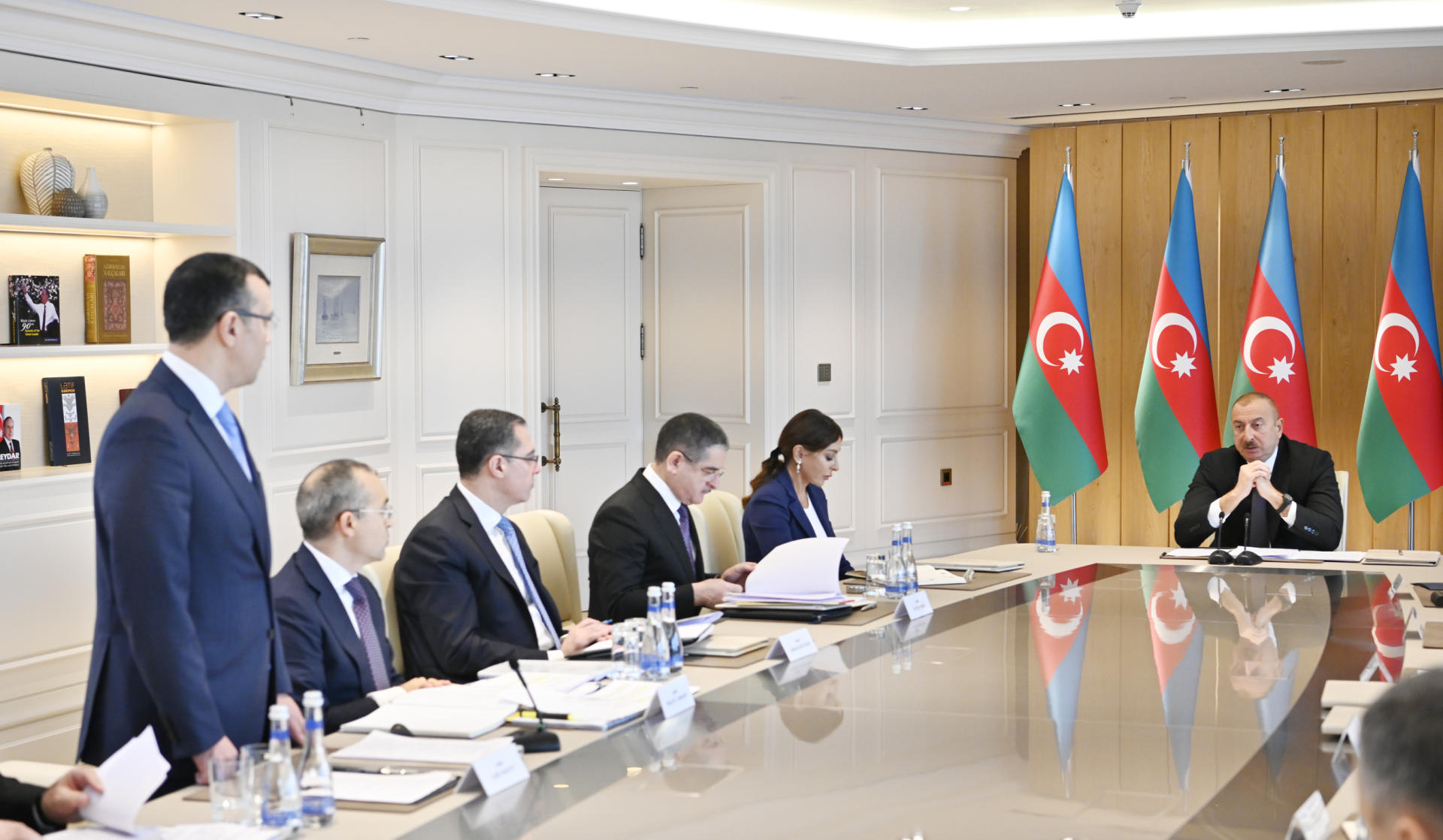 President Ilham Aliyev chairs meeting on results of 2019 (PHOTO)